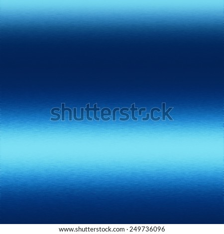 blue abstract background smooth metal texture - stock photo