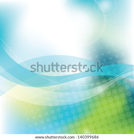Blue abstract background - trendy business website template with copy space Nice artistic texture with blue color meshes and transparent circle shapes  - stock photo
