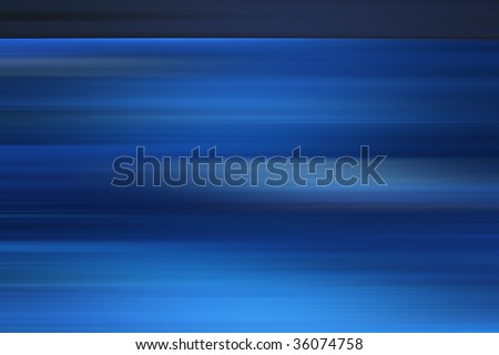 blue abstract background with horizontal lines for nature,technology,fractal and dynamic designs - stock photo