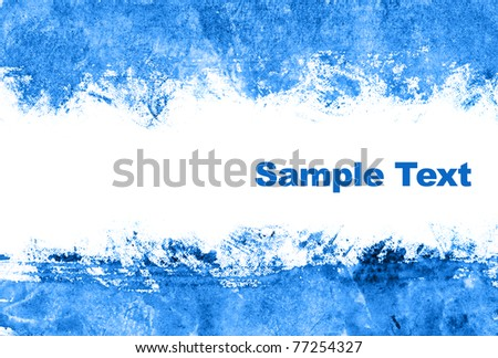 Blue abstract background with space for your own text - stock photo