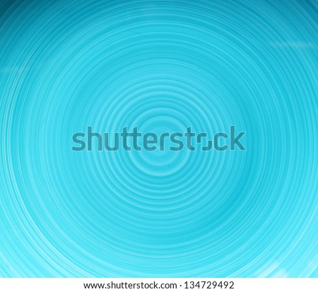blue abstract background with spiral pattern - stock photo