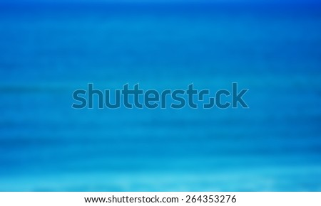 blue abstract blur background - stock photo