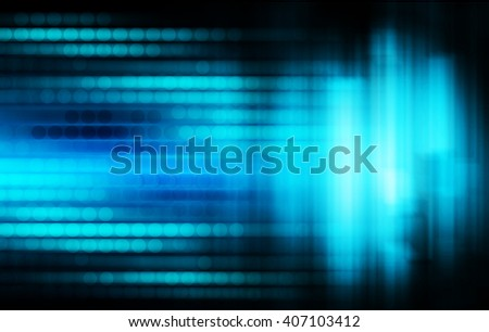Blue abstract hi speed internet technology background illustration. eye scan virus computer.fast move motion. - stock photo