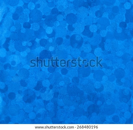 blue abstract metallic background  - stock photo