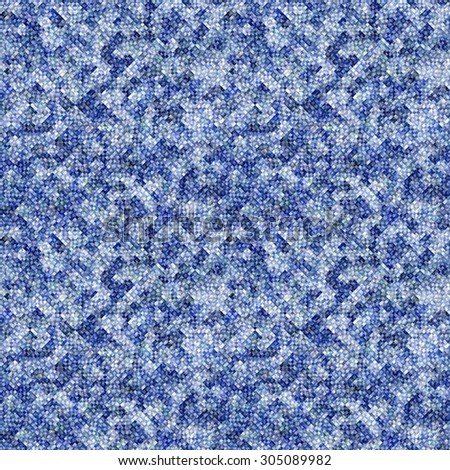 blue Abstract painted geometric background with grunge texture  - stock photo