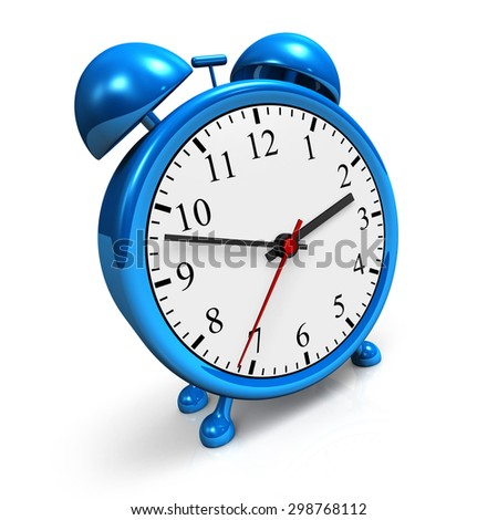 blue alarm clock 2