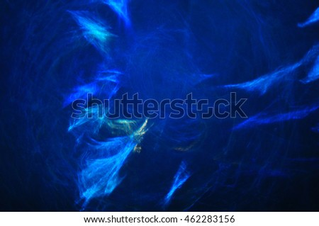 Blue and black abstract background, fractal