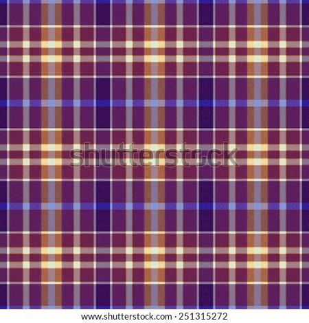 blue and brown Tartan textile seamless background  - stock photo