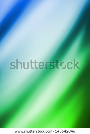 blue and green Artistic fabric texture illustration design graphic - stock photo