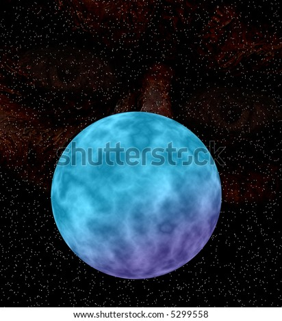 purple and blue planets - photo #24