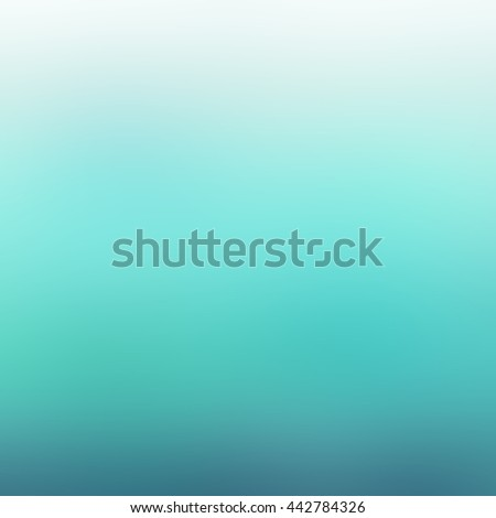blue and white blurred background gradient - stock photo