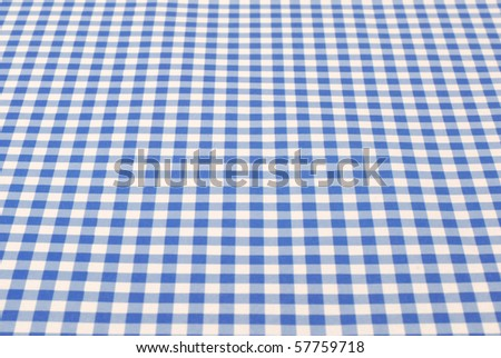Blue and white cloth - stock photo