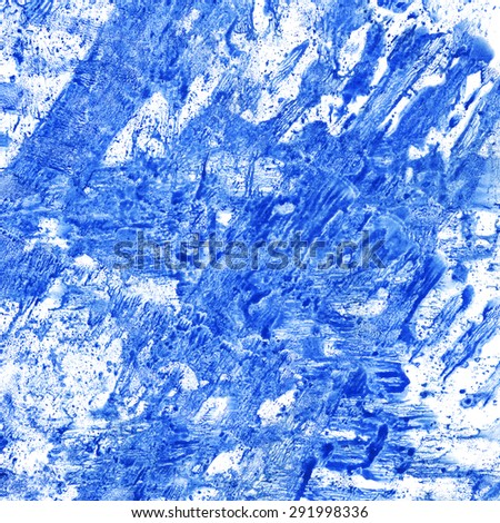 Blue and white watercolor background - stock photo