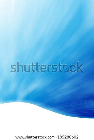 Blue background abstract - stock photo