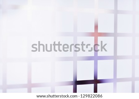 blue background abstract  texture pattern  of glass  Business concept of successful industrial architecture - stock photo