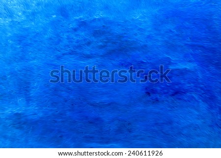 blue background in painting style - stock photo
