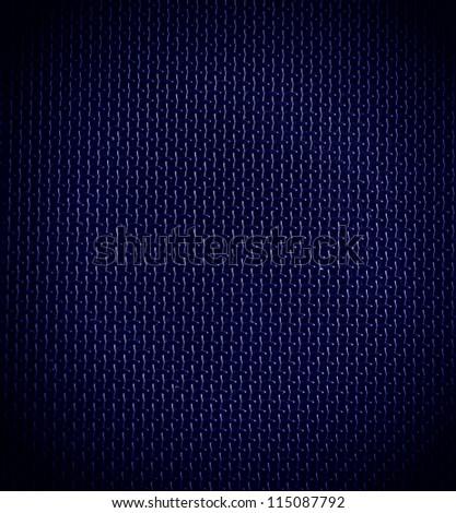 blue background of hexagonal pattern texture - stock photo