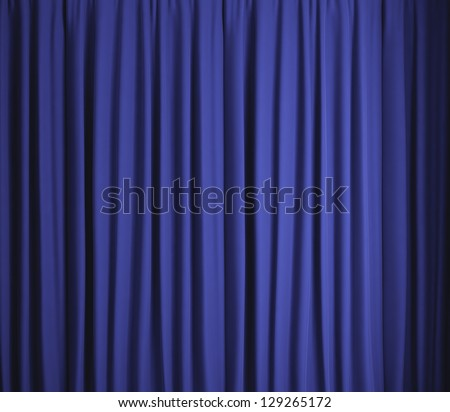 Blue background texture - stock photo