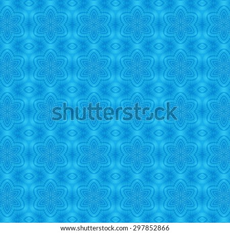 Blue background with abstract pattern - stock photo