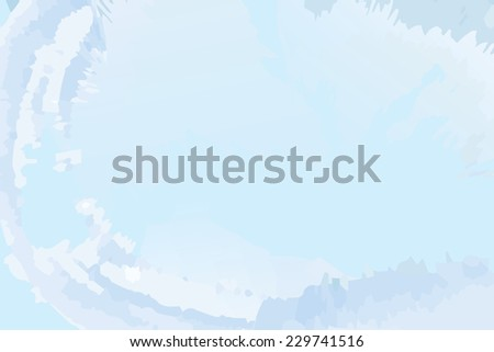 Blue background with an icy look - stock photo