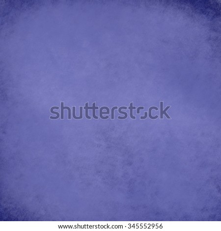 blue background with black vignette border and vintage grunge texture, rich dark blue background color, elegant luxury background design for website layouts, posters, signs - stock photo