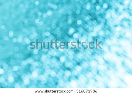 blue background with bokeh. - stock photo