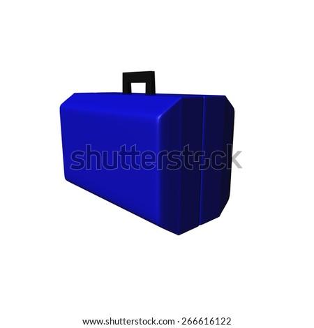 Blue Bag - stock photo