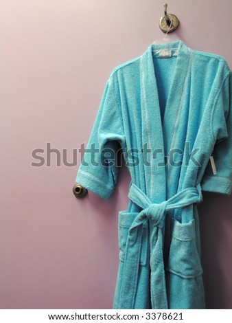 Blue Bathrobe