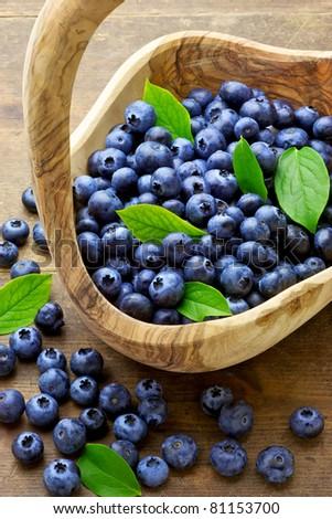 blue berry - stock photo
