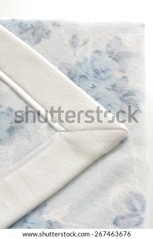 blue blanket for house keeping image
