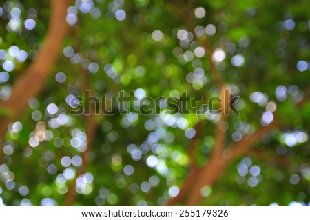 Blue blur abstract background - stock photo