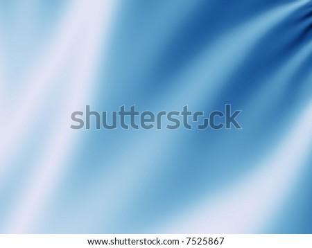 Blue blur velvet background - stock photo