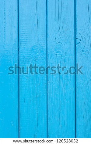 Blue boards - stock photo