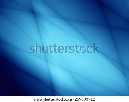 Blue bright template unusual pattern design - stock photo