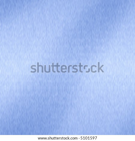 Blue brushed Metal illustration, titanium alike. - stock photo