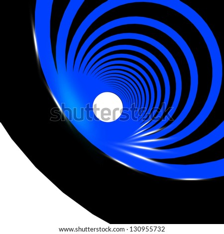 blue business abstract background