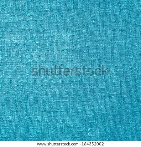 blue canvas background - stock photo