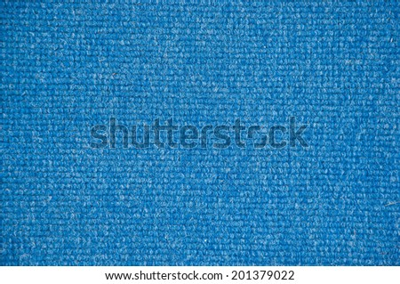 Blue Carpet Background High Quality - stock photo