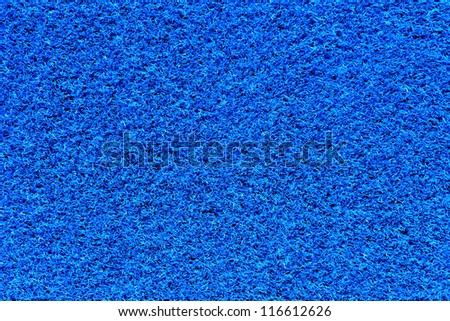 blue carpet texture - stock photo