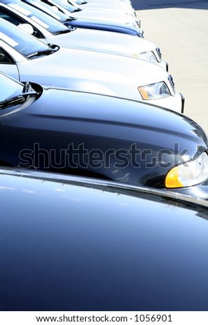Close collectible car over white background stock photo 6351586 blue cars lined up malvernweather Choice Image