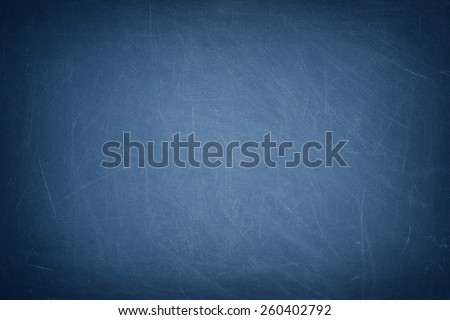 Blue chalkboard / blackboard - stock photo