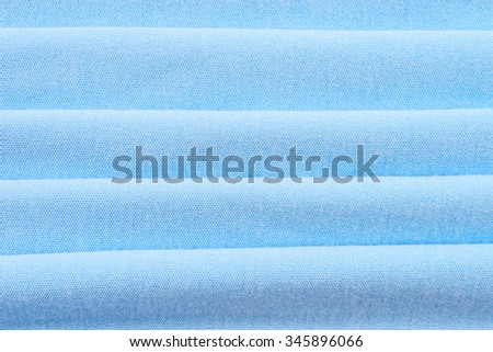 blue cloth fabric material background texture - stock photo