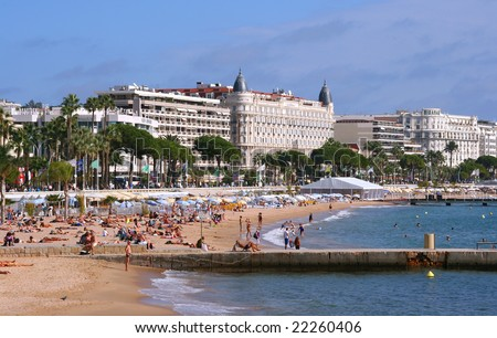 Blue Coast beach - stock photo
