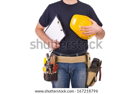 Blue collar worker.