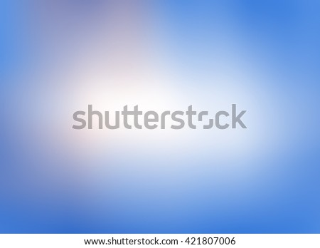 blue color background. - stock photo