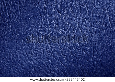 blue cow leather texture background