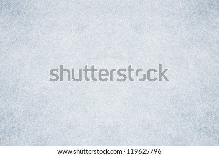 Blue cristal clear snow surface - stock photo