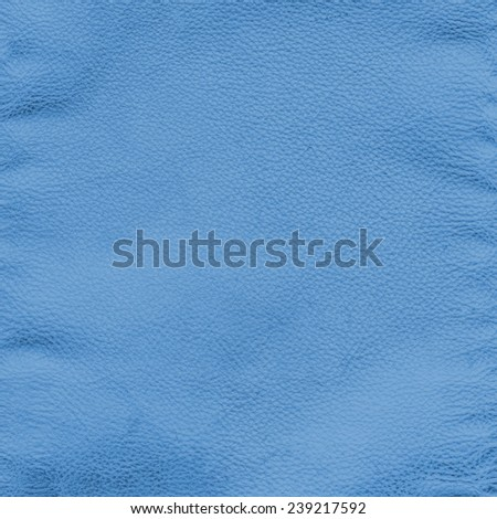 blue crumpled leather texture