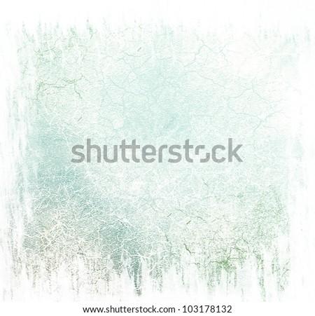 Blue damaged background - stock photo