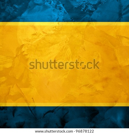blue dark vintage design background - stock photo